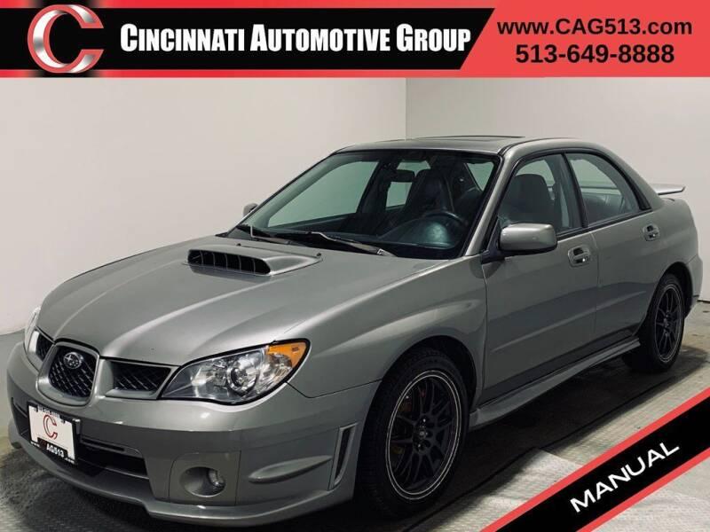 2006 Subaru Impreza for sale at Cincinnati Automotive Group in Lebanon OH