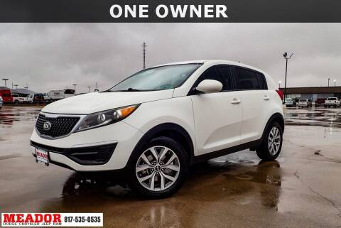 2016 Kia Sportage for sale at Meador Dodge Chrysler Jeep RAM in Fort Worth TX