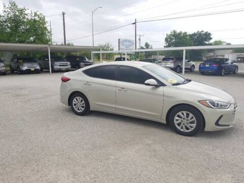 2017 Hyundai Elantra for sale at Bostick's Auto & Truck Sales in Brownwood TX