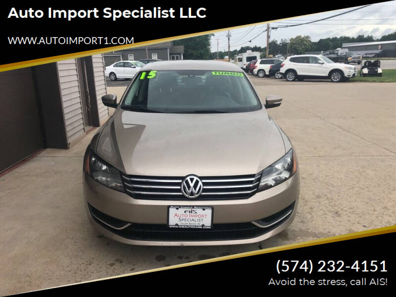 2015 Volkswagen Passat for sale at Auto Import Specialist LLC in South Bend IN