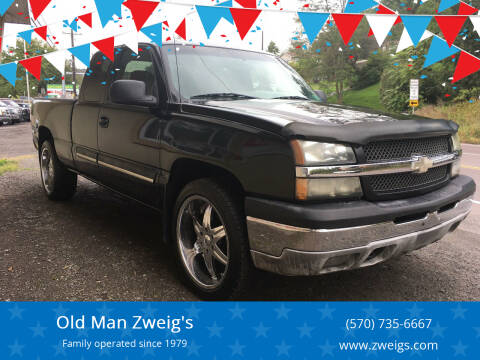 2003 Chevrolet Silverado 1500 for sale at Old Man Zweig's in Plymouth PA