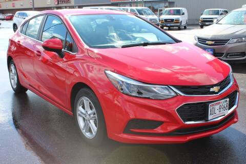2017 Chevrolet Cruze for sale at L & L MOTORS LLC - REGULAR INVENTORY in Wisconsin Rapids WI