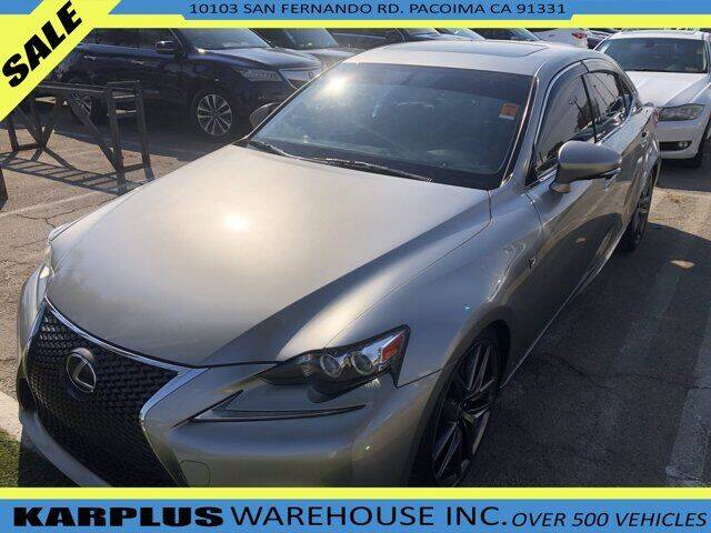 2015 Lexus IS 250 for sale in Pacoima, CA