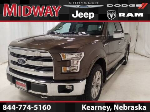 2016 Ford F-150 for sale at MIDWAY CHRYSLER DODGE JEEP RAM in Kearney NE