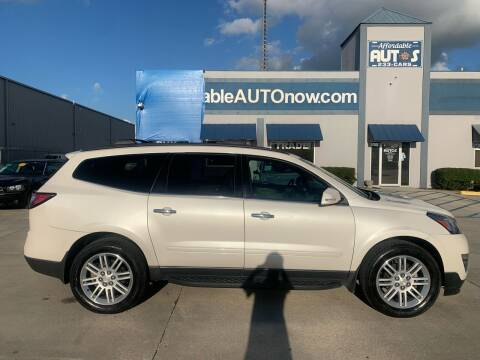 2015 Chevrolet Traverse for sale at Affordable Autos in Houma LA
