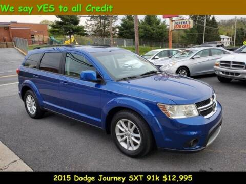 2015 Dodge Journey for sale at Fortnas Used Cars in Jonestown PA