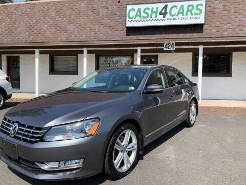 2015 Volkswagen Passat for sale at Cash 4 Cars in Penndel PA