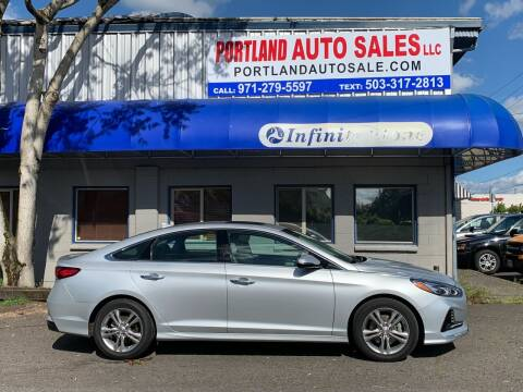 2018 Hyundai Sonata for sale at PORTLAND AUTO SALES LLC. in Portland OR