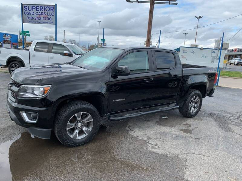2016 Chevrolet Colorado for sale at Superior Used Cars LLC in Claremore OK