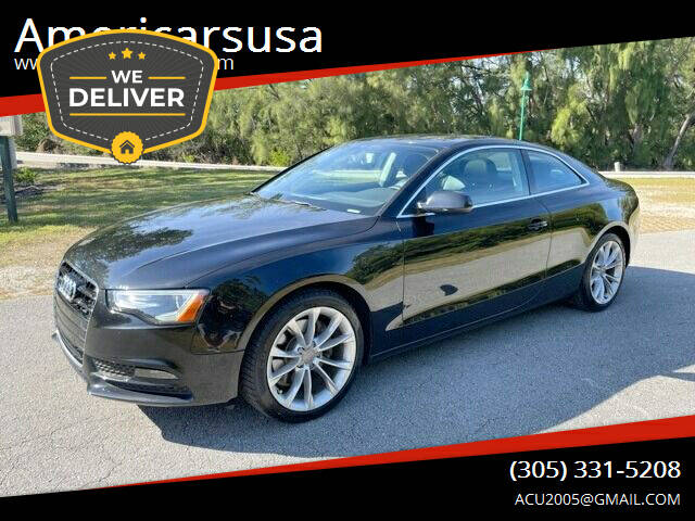 2014 Audi A5 for sale at Americarsusa in Hollywood FL