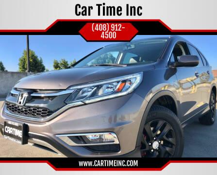 2016 Honda CR-V for sale at Car Time Inc in San Jose CA