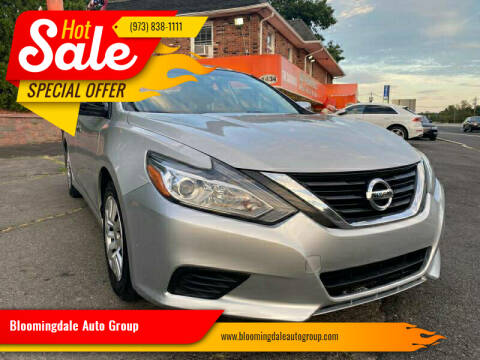 2016 Nissan Altima for sale at Bloomingdale Auto Group - The Car House in Butler NJ