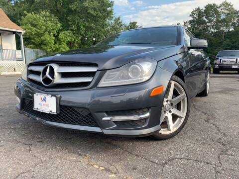2012 Mercedes-Benz C-Class for sale at Mega Motors in West Bridgewater MA
