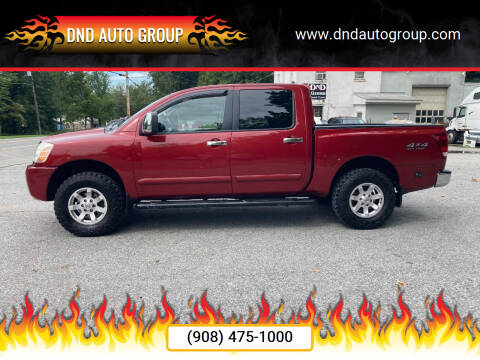 2004 Nissan Titan for sale at DND AUTO GROUP in Belvidere NJ
