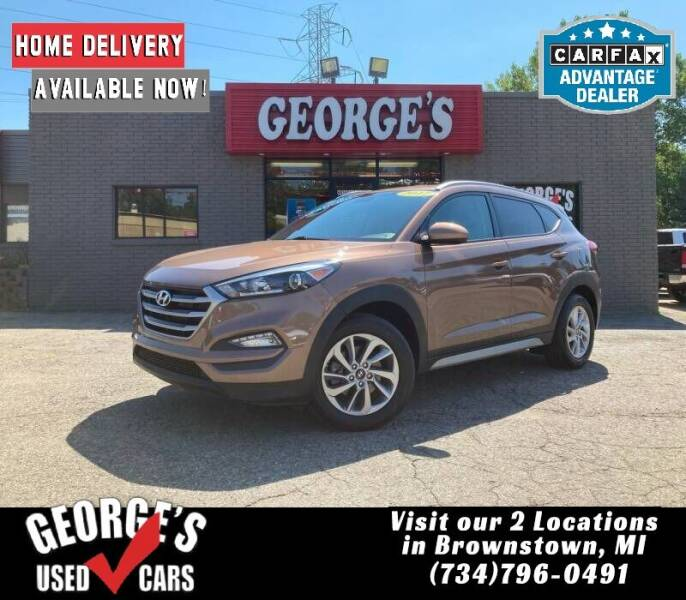 2017 Hyundai Tucson for sale at George's Used Cars - Telegraph in Brownstown MI