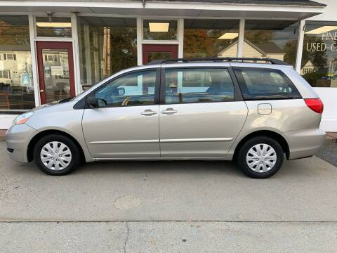 2009 Toyota Sienna for sale at O'Connell Motors in Framingham MA
