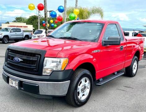 2014 Ford F-150 for sale at PONO'S USED CARS in Hilo HI