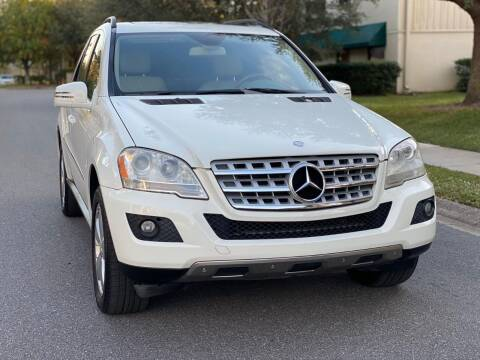2011 Mercedes-Benz M-Class for sale at Presidents Cars LLC in Orlando FL