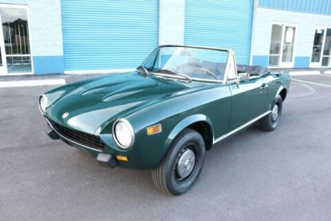 1975 FIAT 124 Spider for sale at Classic Car Deals in Cadillac MI