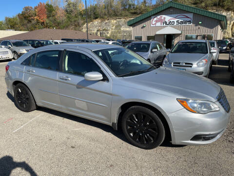 2012 Chrysler 200 for sale at Gilly's Auto Sales in Rochester MN