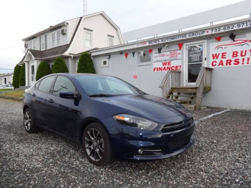 2014 Dodge Dart for sale at Reyes Automotive Group in Lakewood NJ