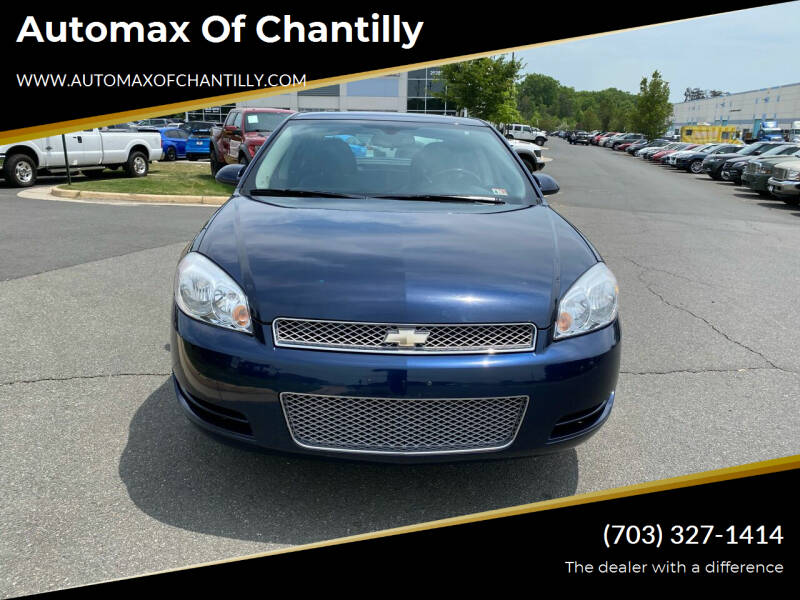 2012 Chevrolet Impala for sale at Automax of Chantilly in Chantilly VA