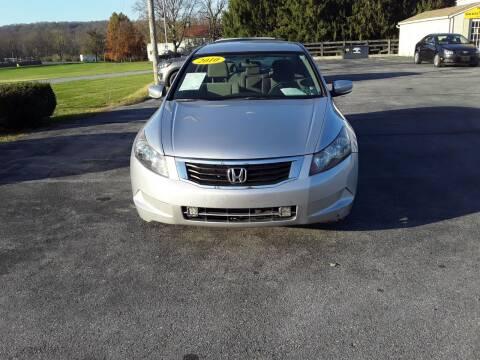 2010 Honda Accord for sale at Dun Rite Car Sales in Downingtown PA