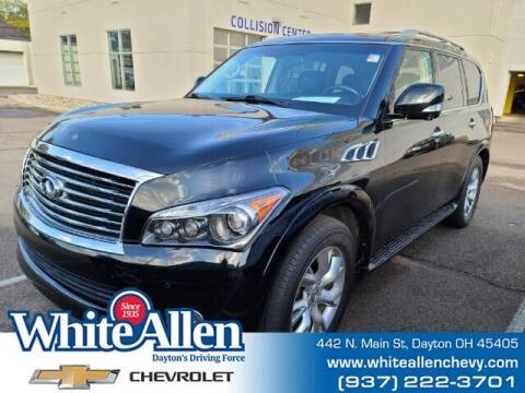 2012 Infiniti QX56 for sale at WHITE-ALLEN CHEVROLET in Dayton OH