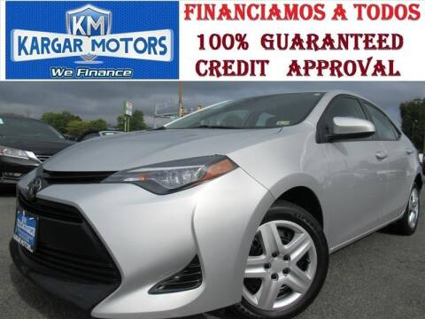 2018 Toyota Corolla for sale at Kargar Motors of Manassas in Manassas VA