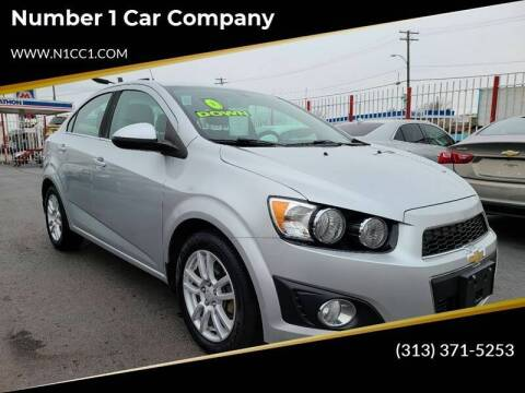 2014 Chevrolet Sonic for sale at Number 1 Car Company in Detroit MI