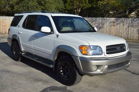 2003 Toyota Sequoia for sale at Coleman Auto Group in Austin TX