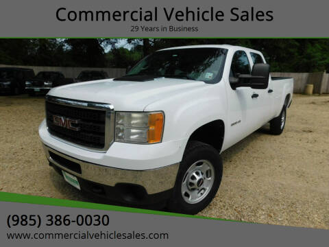 2012 GMC Sierra 2500HD for sale at Commercial Vehicle Sales in Ponchatoula LA