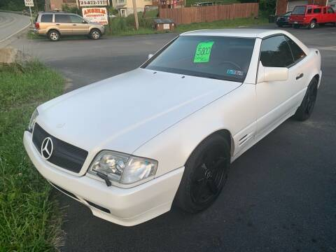 1994 Mercedes-Benz SL-Class for sale at Trocci's Auto Sales in West Pittsburg PA