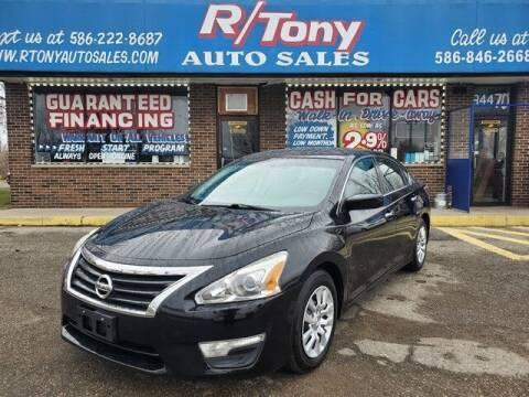 2015 Nissan Altima for sale at R Tony Auto Sales in Clinton Township MI