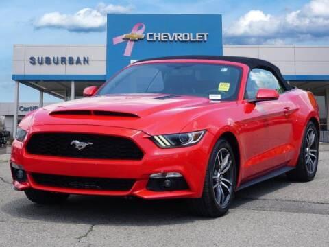 2017 Ford Mustang for sale at Suburban Chevrolet of Ann Arbor in Ann Arbor MI