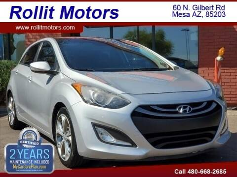 2013 Hyundai Elantra GT for sale at Rollit Motors in Mesa AZ