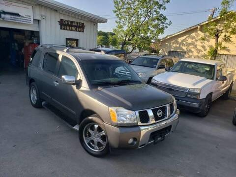 2004 Nissan Armada for sale at DFW AUTO FINANCING LLC in Dallas TX