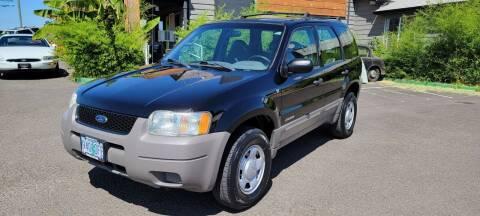 2001 Ford Escape for sale at Persian Motors in Cornelius OR