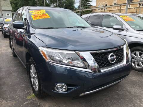 2015 Nissan Pathfinder for sale at Jeff Auto Sales INC in Chicago IL