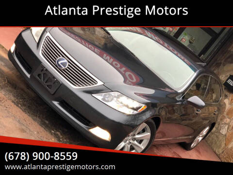 2008 Lexus LS 600h L for sale at Atlanta Prestige Motors in Decatur GA