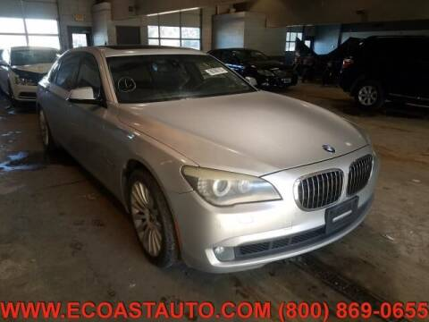 2009 BMW 7 Series for sale at East Coast Auto Source Inc. in Bedford VA