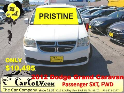 2012 Dodge Grand Caravan for sale at The Car Company in Las Vegas NV