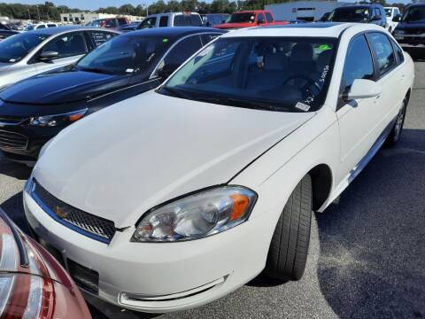 2012 Chevrolet Impala for sale at IDEAL IMPORTS WEST in Rock Hill SC