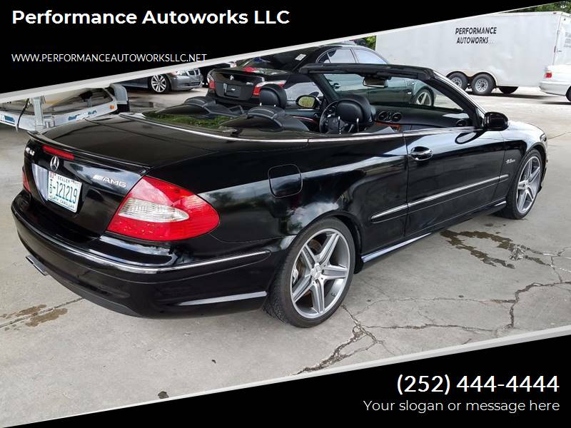 2008 Mercedes-Benz CLK for sale at Performance Autoworks LLC in Havelock NC
