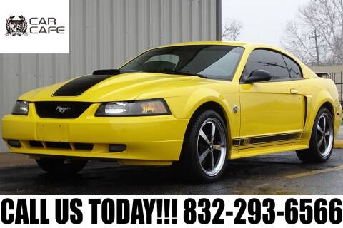 2004 Ford Mustang for sale at CAR CAFE LLC in Houston TX