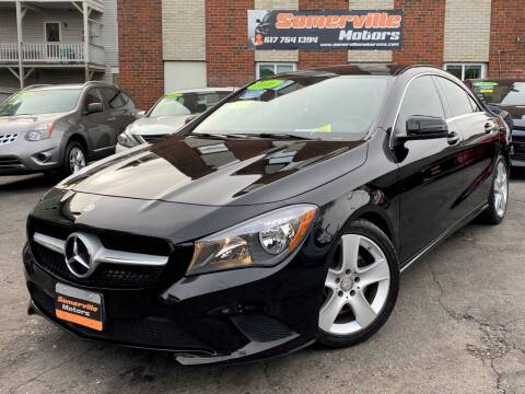 2016 Mercedes-Benz CLA for sale at Somerville Motors in Somerville MA
