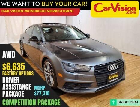2018 Audi A7 for sale at Car Vision Mitsubishi Norristown in Trooper PA