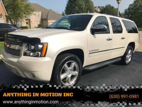 2011 Chevrolet Suburban for sale at ANYTHING IN MOTION INC in Bolingbrook IL