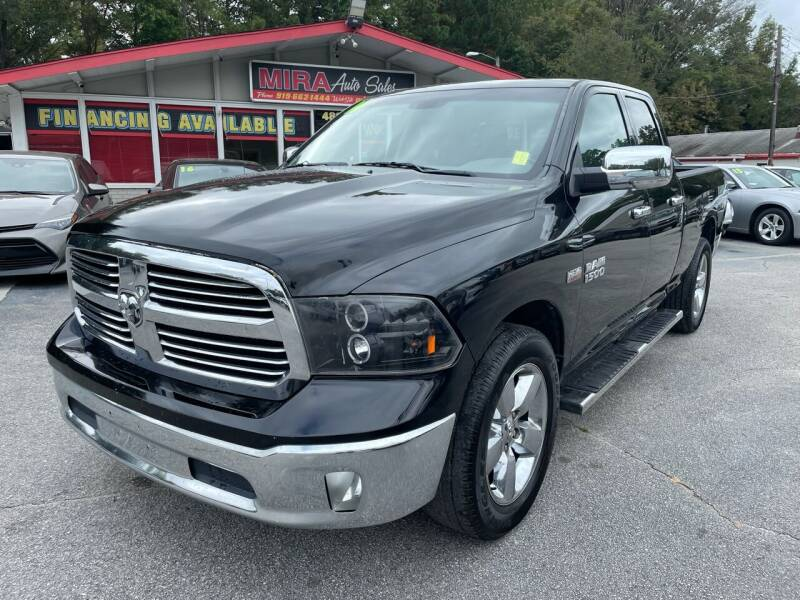 2014 RAM Ram Pickup 1500 for sale at Mira Auto Sales in Raleigh NC