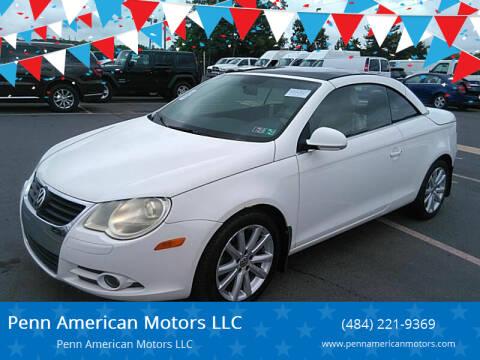 2008 Volkswagen Eos for sale at Penn American Motors LLC in Emmaus PA